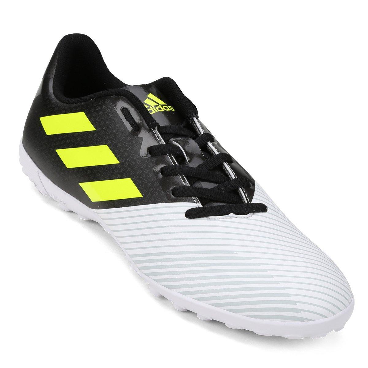 Chuteira Society Adidas Artilheira 17 TF - Preto - Compre Agora ... 7d865c640240a