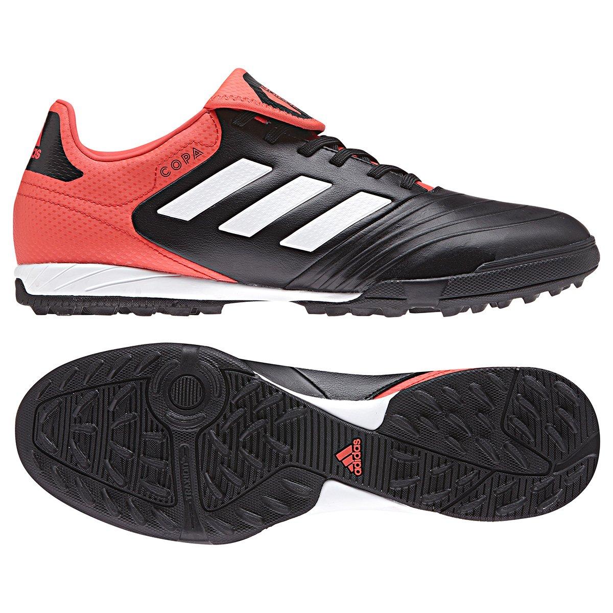 3526c2a428 Chuteira Society Adidas Copa 18.3 TF - Preto e Vermelho