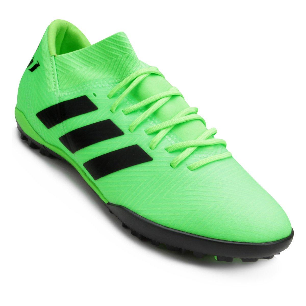 5ec37babc98a5 Chuteira Society Adidas Nemeziz Messi Tan 18 3 TF - Compre Agora ...