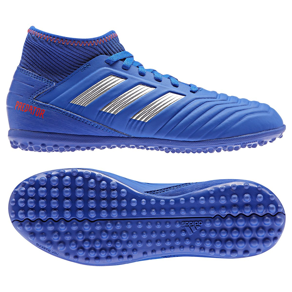 6016944677 Chuteira Society Infantil Adidas Predator 19 3 TF