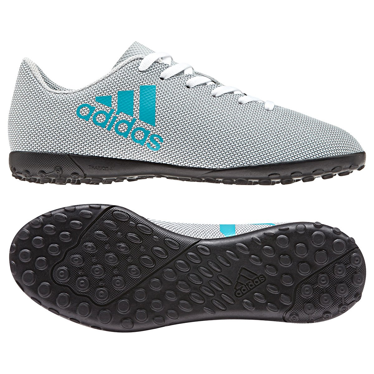 fc6a6dafe3 Chuteira Society Infantil Adidas X 17.4 TF
