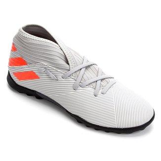 Chuteira Society Juvenil Adidas Nemeziz 19 3 TF