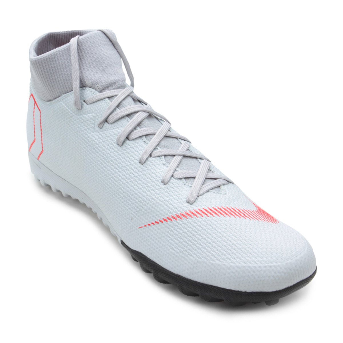 c23b3eaf81ba5 Chuteira Society Nike Mercurial Superfly 6 Academy - Cinza - Compre Agora