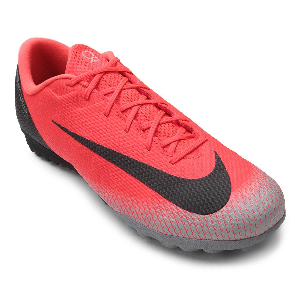 22fc9d86dd Chuteira Society Nike Mercurial Vapor 12 Academy CR7 TF | Allianz Parque  Shop