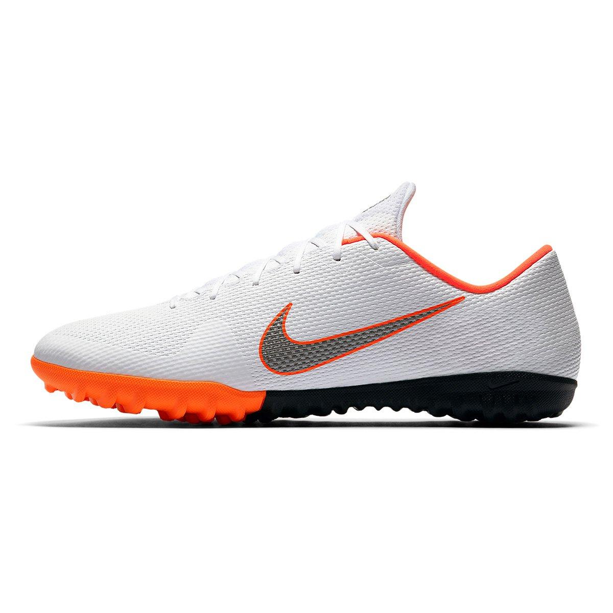 b7c37c5f23 Chuteira Society Nike Mercurial Vapor 12 Academy - Branco e Cinza ...