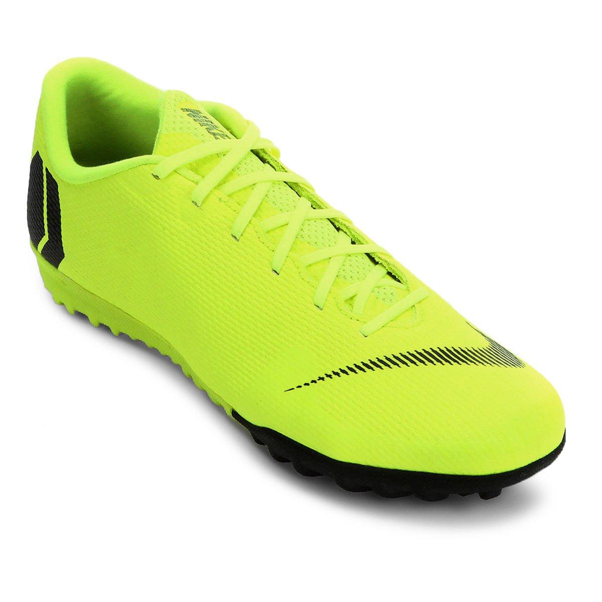 7caaece87f7 Chuteira Society Nike Mercurial Vapor 12 Academy - Amarelo e Preto - Compre  Agora