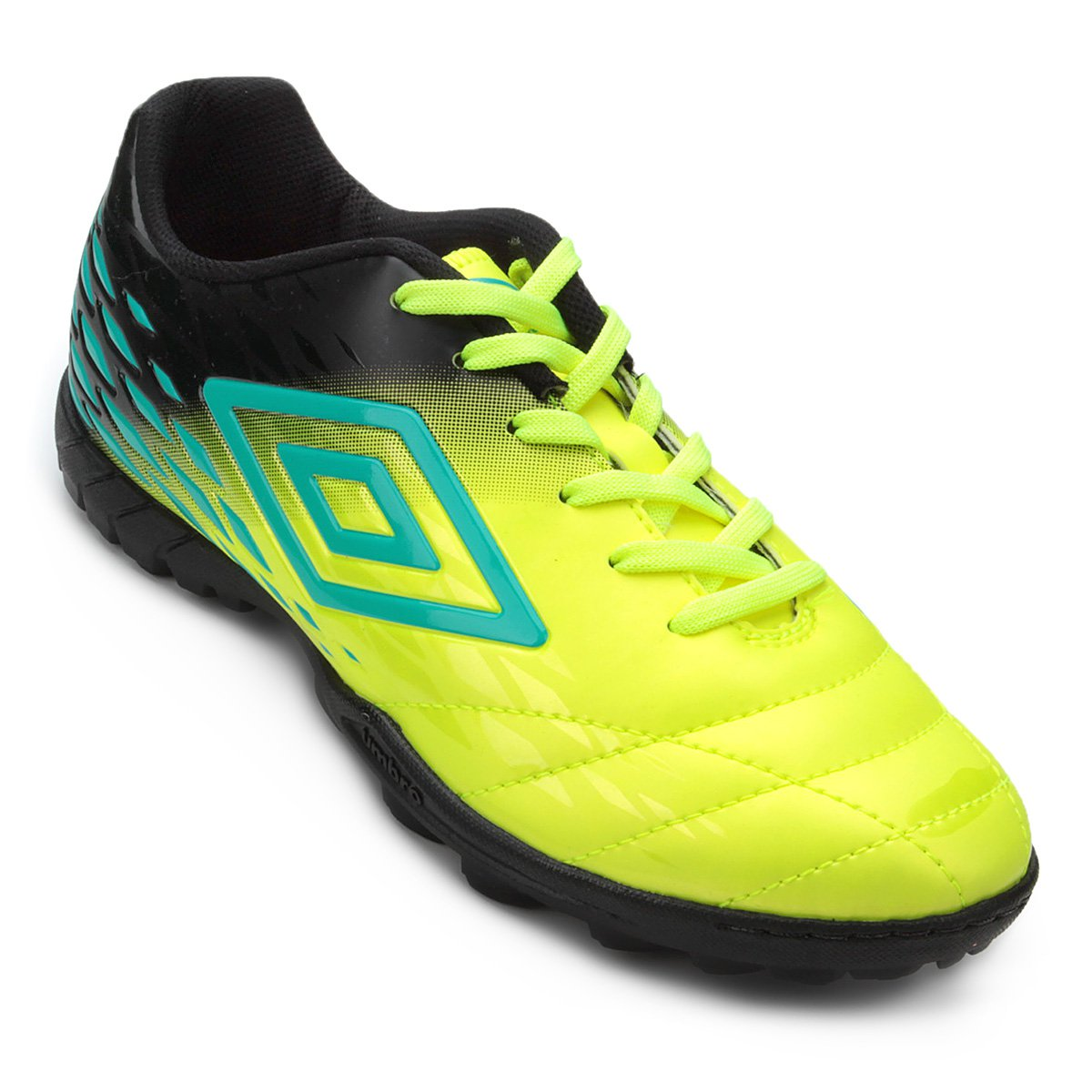 Chuteira Society Umbro Fifty II - Verde e Azul - Compre Agora ... b3e00c38dde77