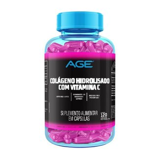 Colágeno + Vitamina C (120 Cápsulas) - Age