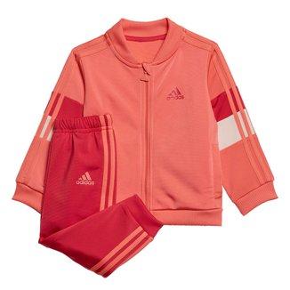 Conjunto Agasalho Infantil Adidas Shiny Unissex