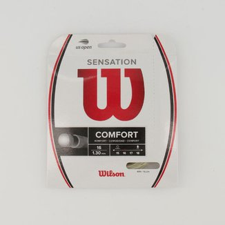 Corda para Raquete Wilson Sensation Plus 16 Branca