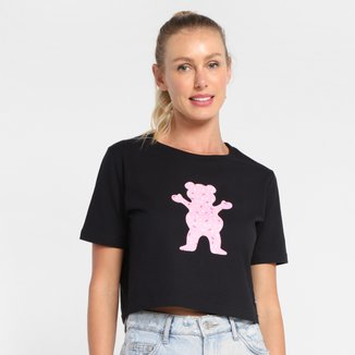 Cropped Grizzly Sprinkles Og Bear Feminino