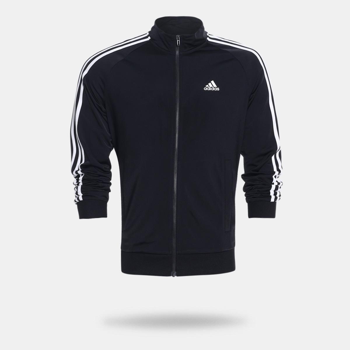 Jaqueta Adidas Ess 3S Ttop Tri Masculina - Compre Agora  816301fae78cc