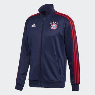 Jaqueta Bayern de Munique Adidas 3-Stripes Track Top Masculina