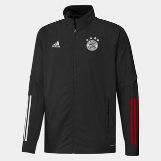 Jaqueta Corta-Vento Bayern de Munique Treino 20/21 Adidas Masculina
