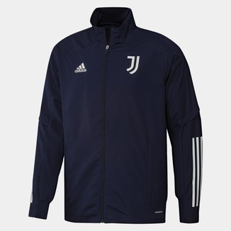 Jaqueta Corta-Vento Juventus Treino 20/21 Adidas Masculina