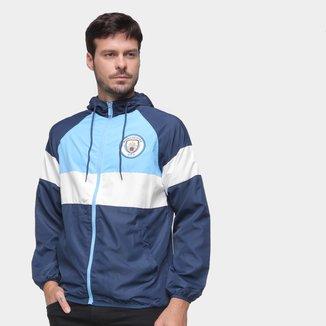 Jaqueta Corta Vento Manchester City Masculina