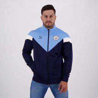 Jaqueta Manchester City Puma Iconic Track Masculina