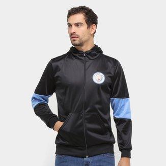 Jaqueta Manchester City Trilobal Capuz Masculina