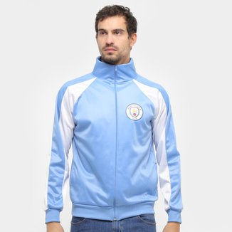 Jaqueta Manchester City Trilobal Recortes Masculina