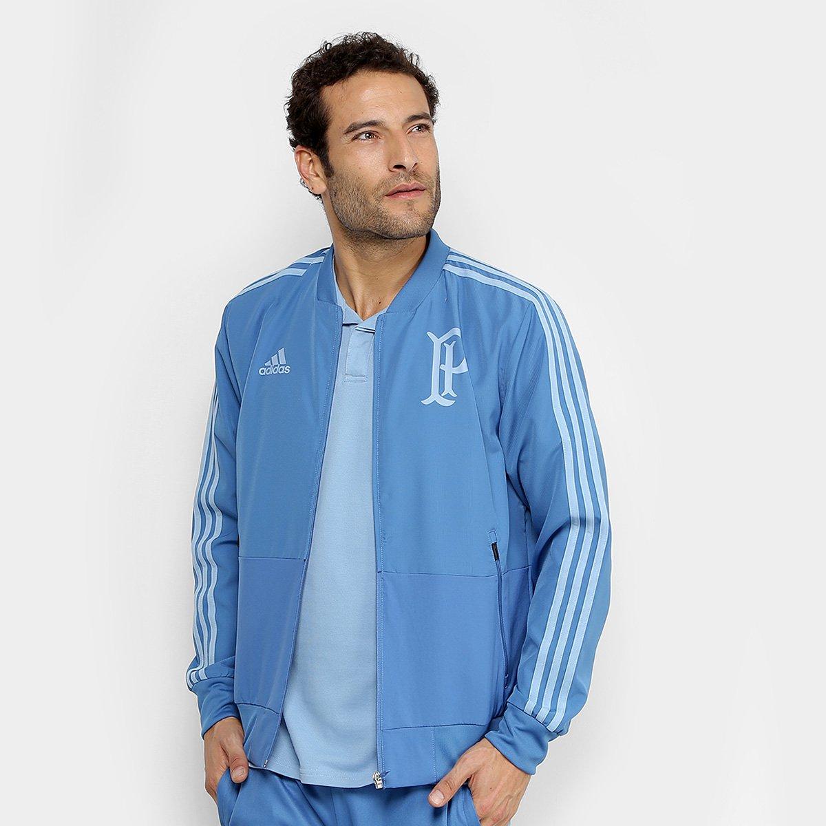Jaqueta Palmeiras Adidas Viagem Masculina - Azul - Compre Agora ... c9d93f98ad96a
