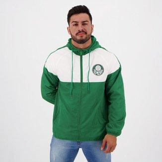 Jaqueta Palmeiras Corta Vento Verde e Branca