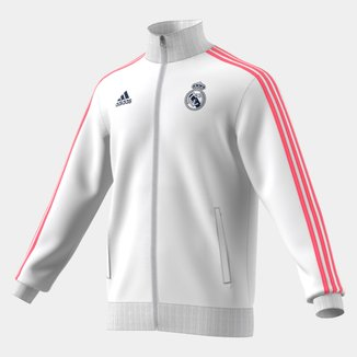 Jaqueta Real Madrid Adidas 3-Stripes Track Top Masculina