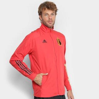 Jaqueta Seleção Bélgica Treino 20/21 Adidas Masculina