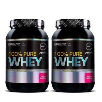Kit 2x 100% Pure Whey 900g Probiótica
