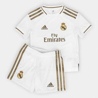 Kit Infantil Real Madrid Home 19/20 Adidas