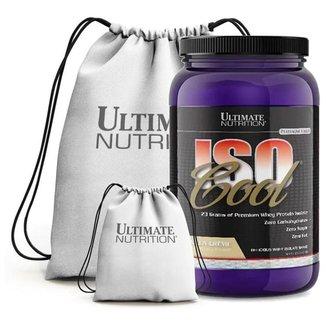 Kit Isocool 900G + Mochila - Ultimate Nutrition (Baunilha)