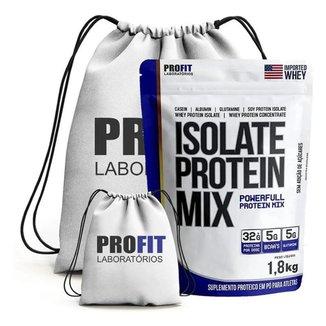 Kit Isolate Protein Mix 1.8Kg + Mochila - Profit (Morango)