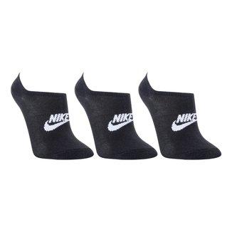 Kit Meia Nike Soquete Everyday Essential C/ 3 Pares