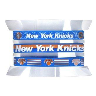 Kit Pulseira NBA New York Knicks c/ 3 Unidades