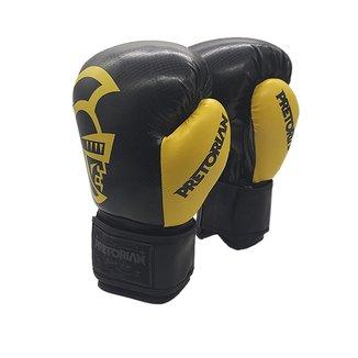 Luva De Boxe e Muay Thai Pretorian Black 12 Oz