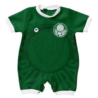 Macacão Torcida Baby Palmeiras 005 S Infantil