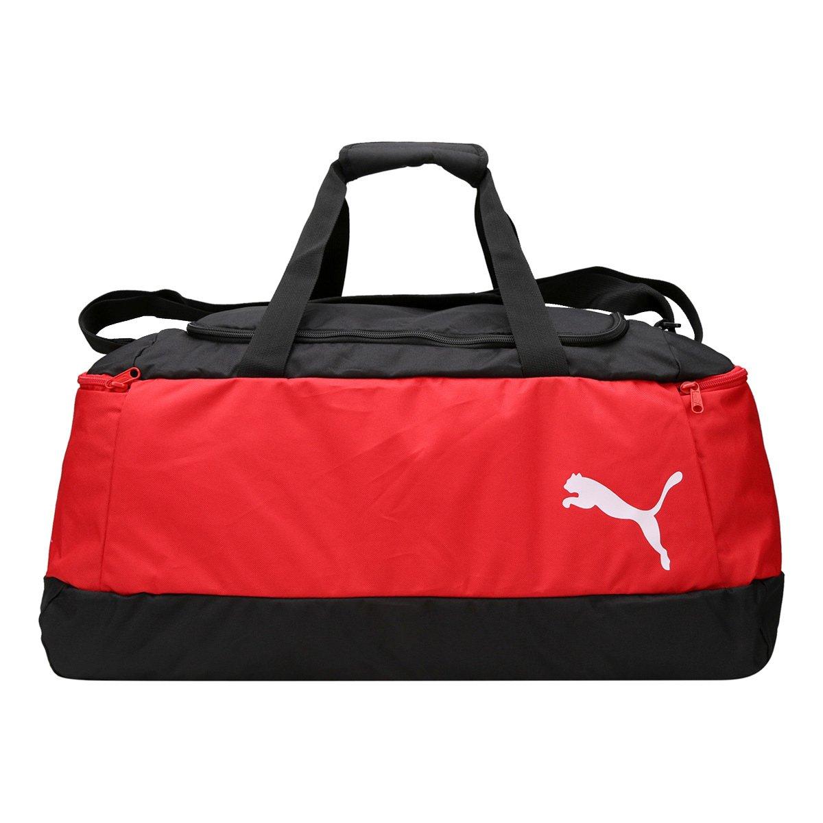 46e6cd16a Mala Puma Pro Training II Masculina - Vermelho e Preto | Allianz Parque Shop