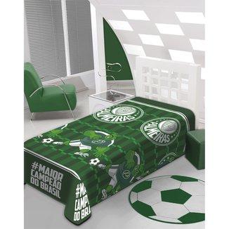 Manta Palmeiras Microfribra Soft