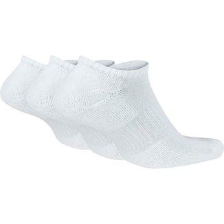 Meia Nike Sem Cano Everyday Cushion Pacote C/ 3 Pares