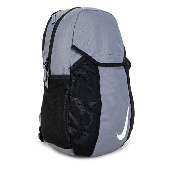 orden Inquieto adjetivo  Mochila Nike Academy Team - Cinza e Preto | Allianz Parque Shop