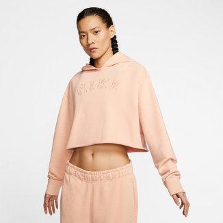Moletom Nike Cropped Hoodie Feminino