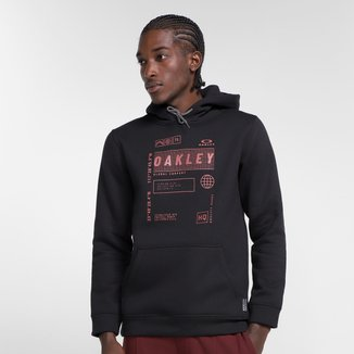Moletom Oakley Global Tag Pullover Masculino