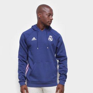 Moletom Real Madrid Adidas Viagem 21/22 Masculino