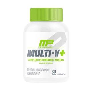 MULTI-V+ MULTIVITAMÍNICO (30 cápsulas) - MusclePharm