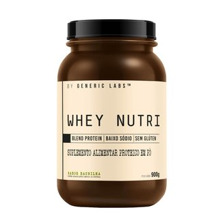 Nutri Protein (900g) - Generic Labs