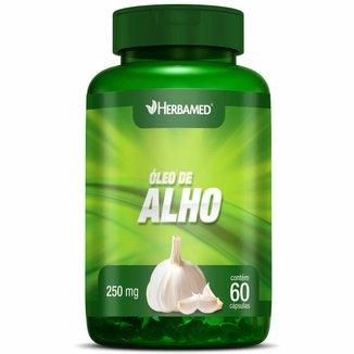 Óleo de Alho - 60 Cápsulas - Herbamed