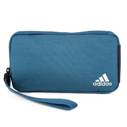 Pochete Adidas Street - Azul Petróleo+Prata