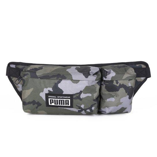 Pochete Puma Academy Multi Waist - Verde escuro
