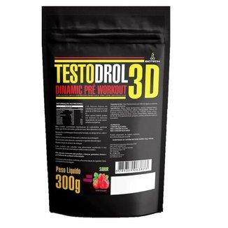 Pré Treino Dinamic Pré Workout Testodrol 3d (300 Gramas) - Morango