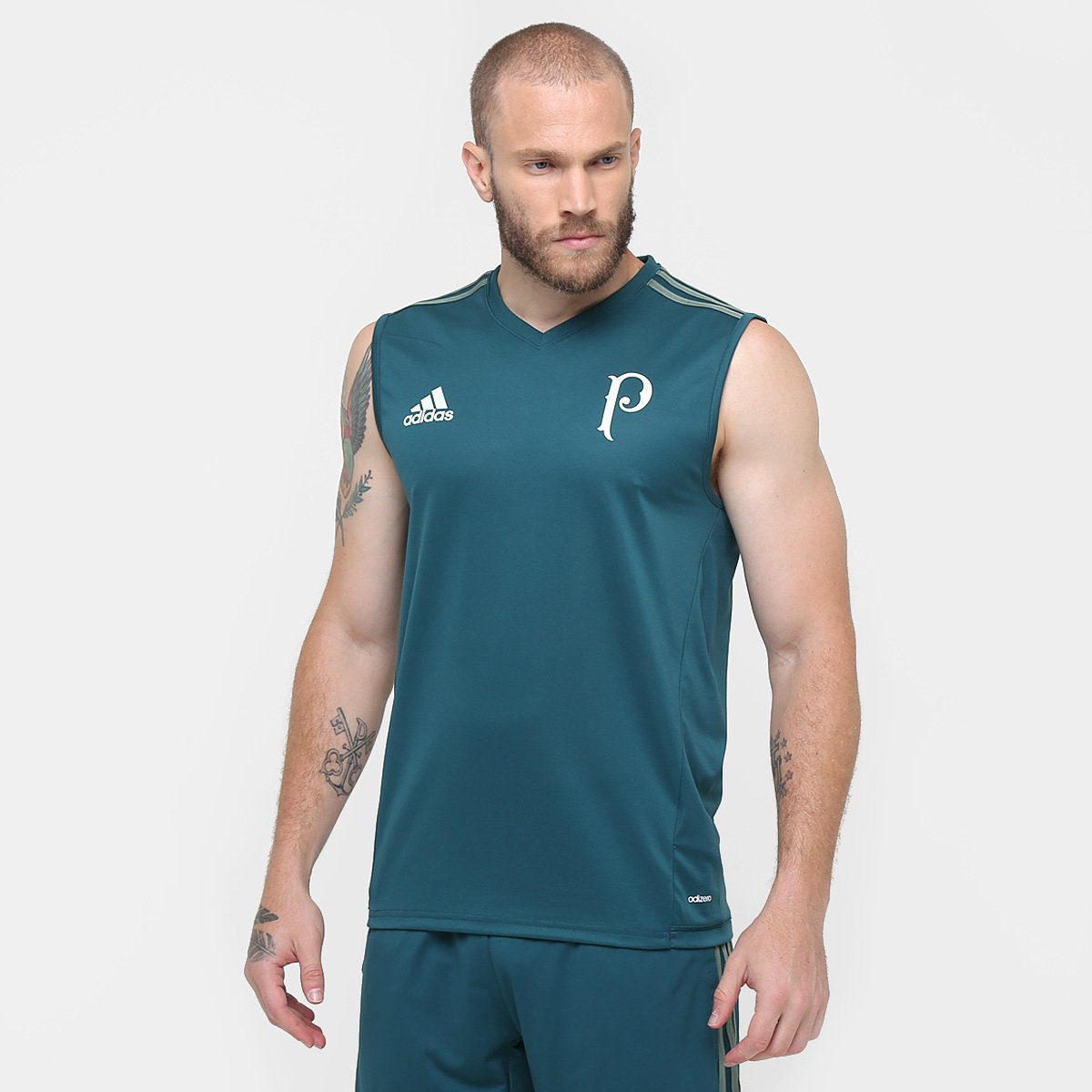 628d64010630a Regata Palmeiras Treino 17 18 Adidas Masculina - Compre Agora ...