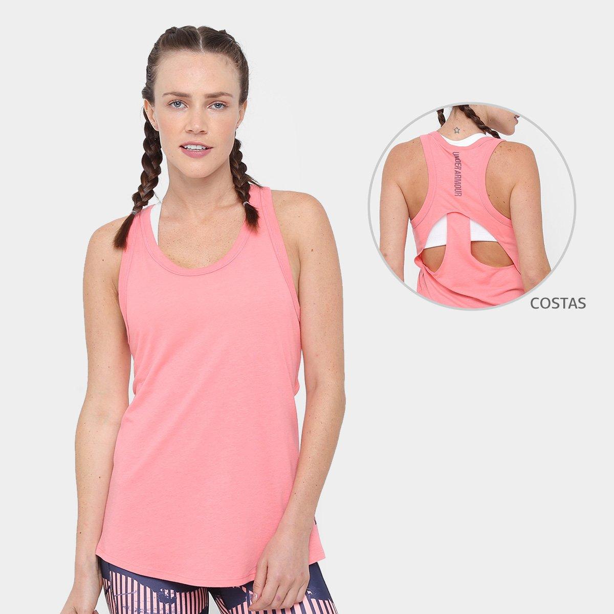 ec0443697 Regata Under Armour Triblend Feminina - Rosa | Allianz Parque Shop